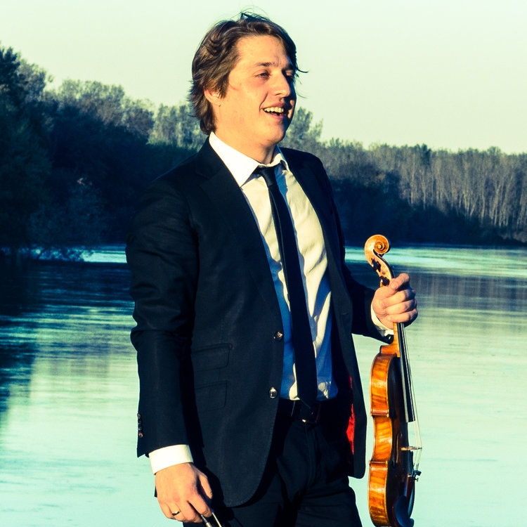 Nicholas Tavani, violin I (Aeolus Quartet)