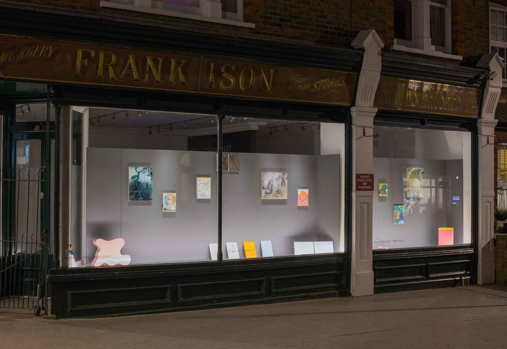 March & April 2017. x12 painters at the Walthamstow Village Window Gallery. Image by Benjamin Deakin