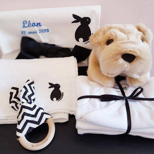 La Pelucherie newborn gift box