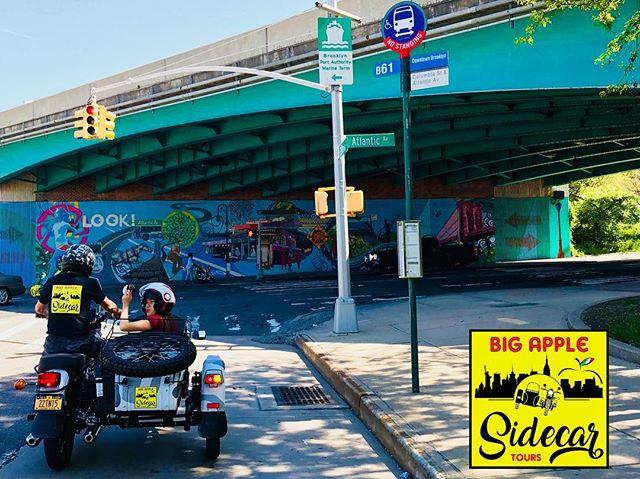 @fansdiandreagalbiati #bigapplesidecartours #newyorkcity #newyorkcity4all #vivereanewyork #sidecar #brooklynbridge #travelblogger