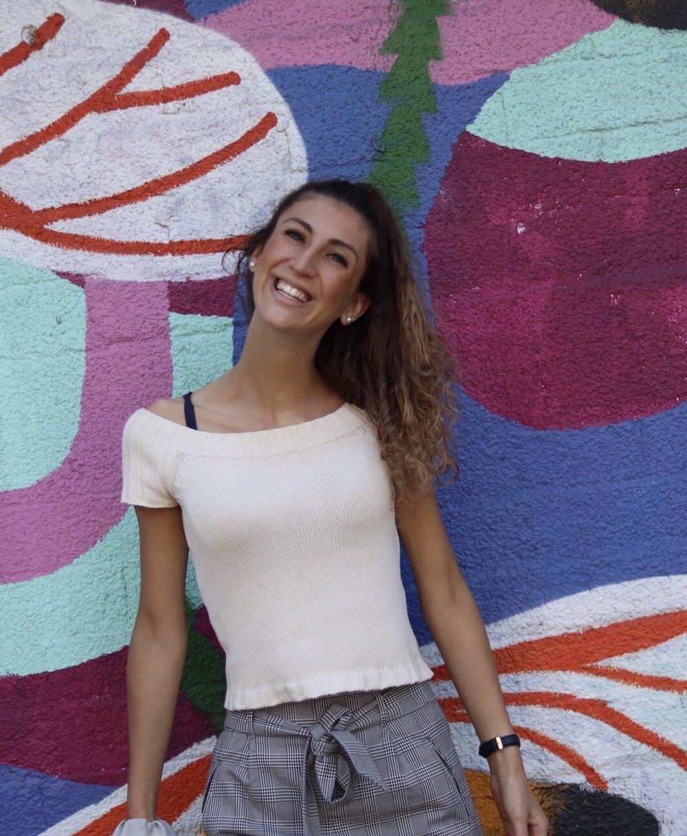 Giulia Belotti - Italy Coordinator   University of Trento C'22   ItalyCoordinator@thinkoceanglobal.org