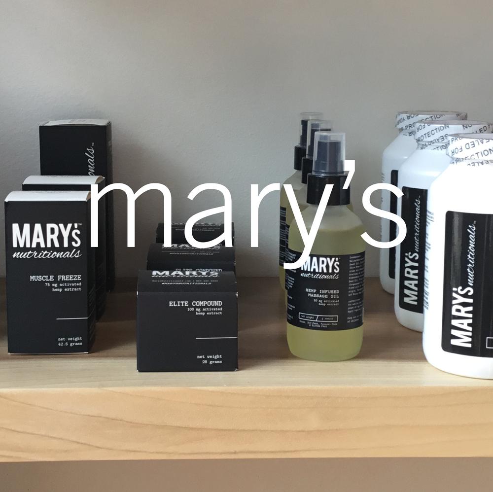 mary's nutritional cbd botanica evanston