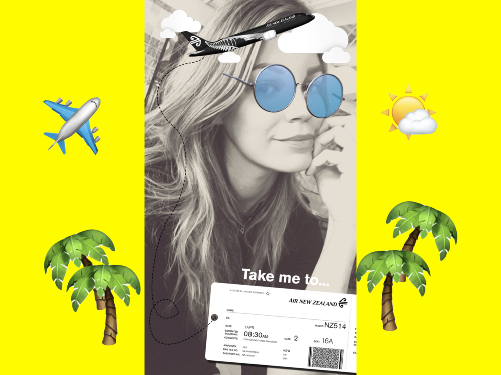 How to unlock Air New Zealand secret Snapchat filter — SnapchatDaily