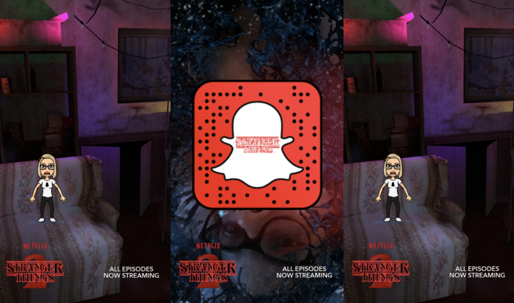 Stranger Things Snapchat Filter Has Arrived and It's Really