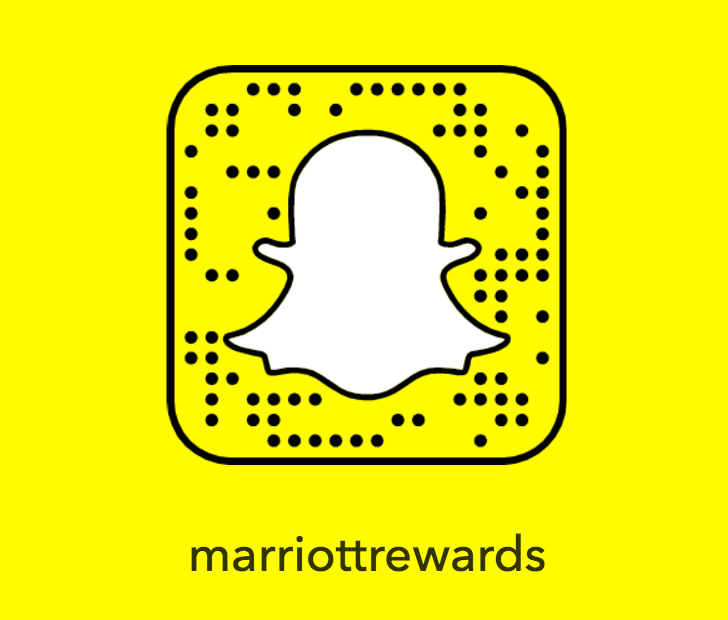 Marriott Rewards Snapchat