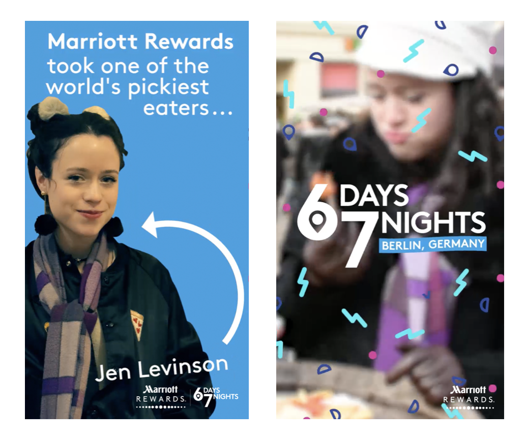 Marriott Rewards Snapchat Show