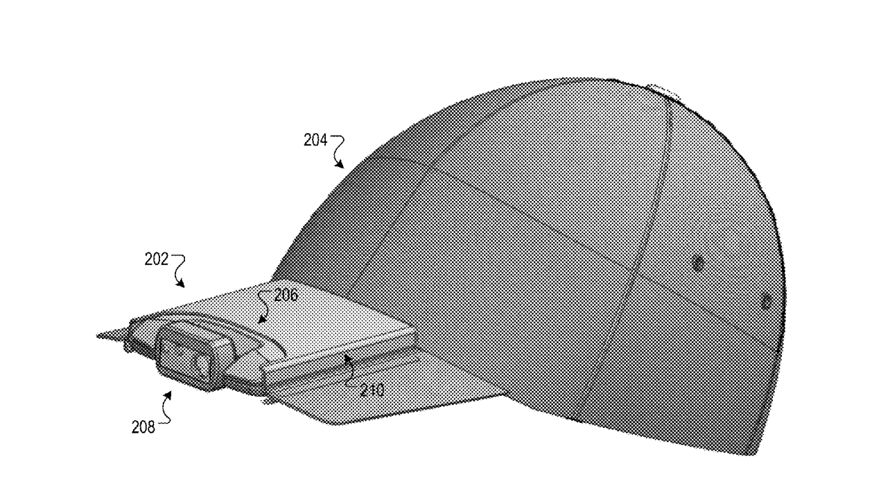 google video hat patent