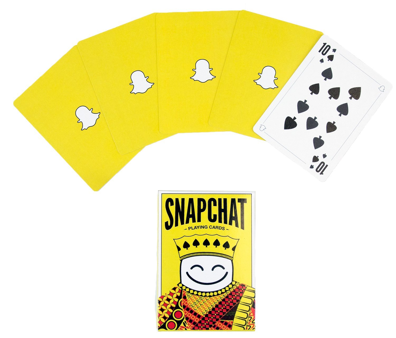 snapchat playing cards