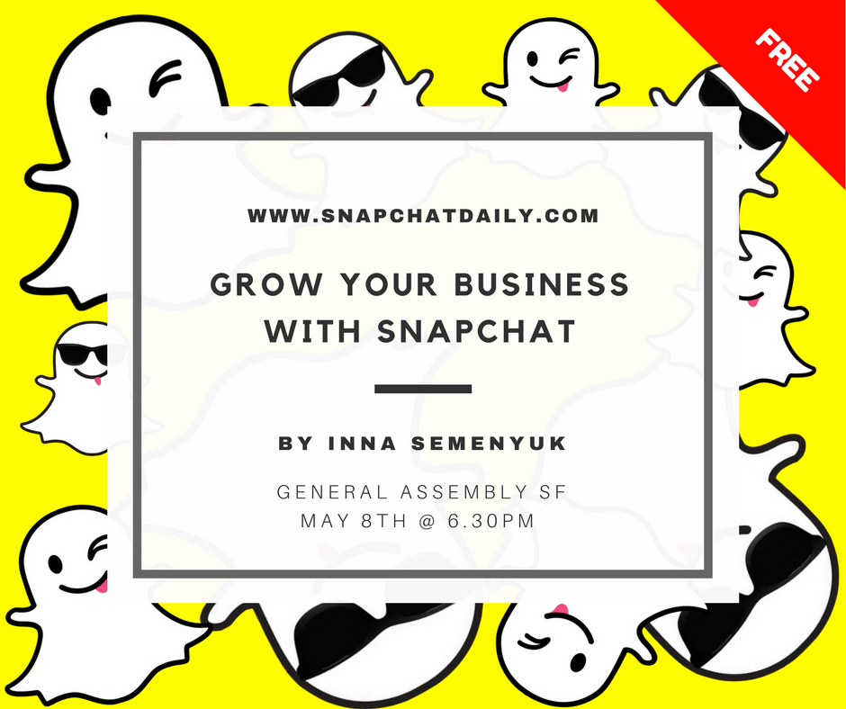 snapchat for business workshop san francisco