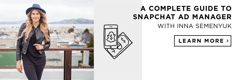 inna semenyuk snapchat ad manager creative live