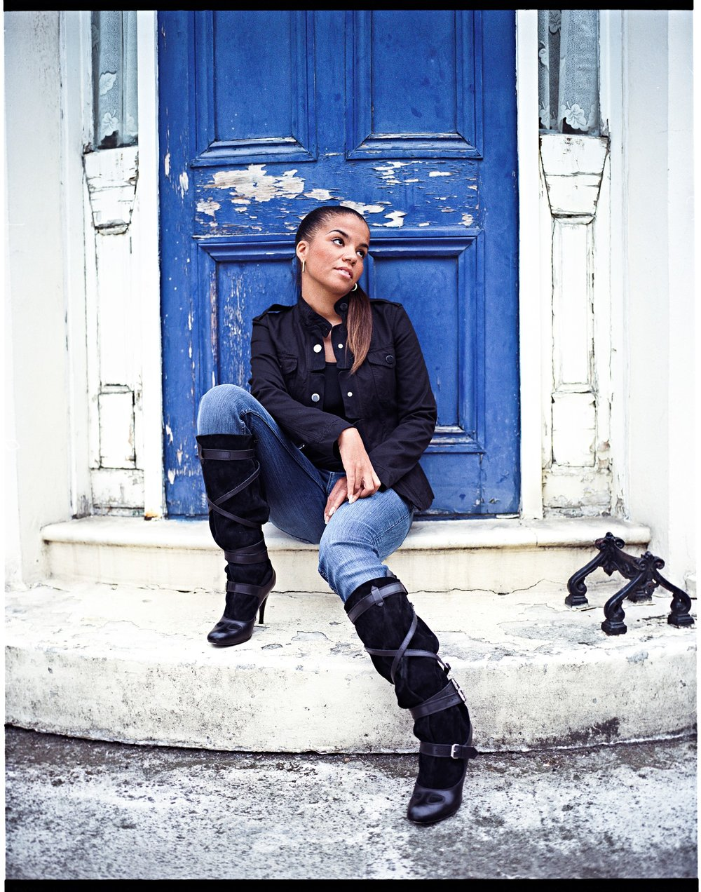 Ms. Dynamite, photographed for the Black Britannia photo exhibition.