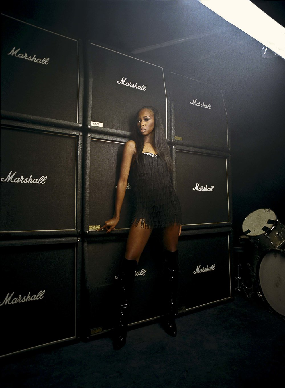 British R&B singer Jamelia - for the Black Britannia photo exhibition