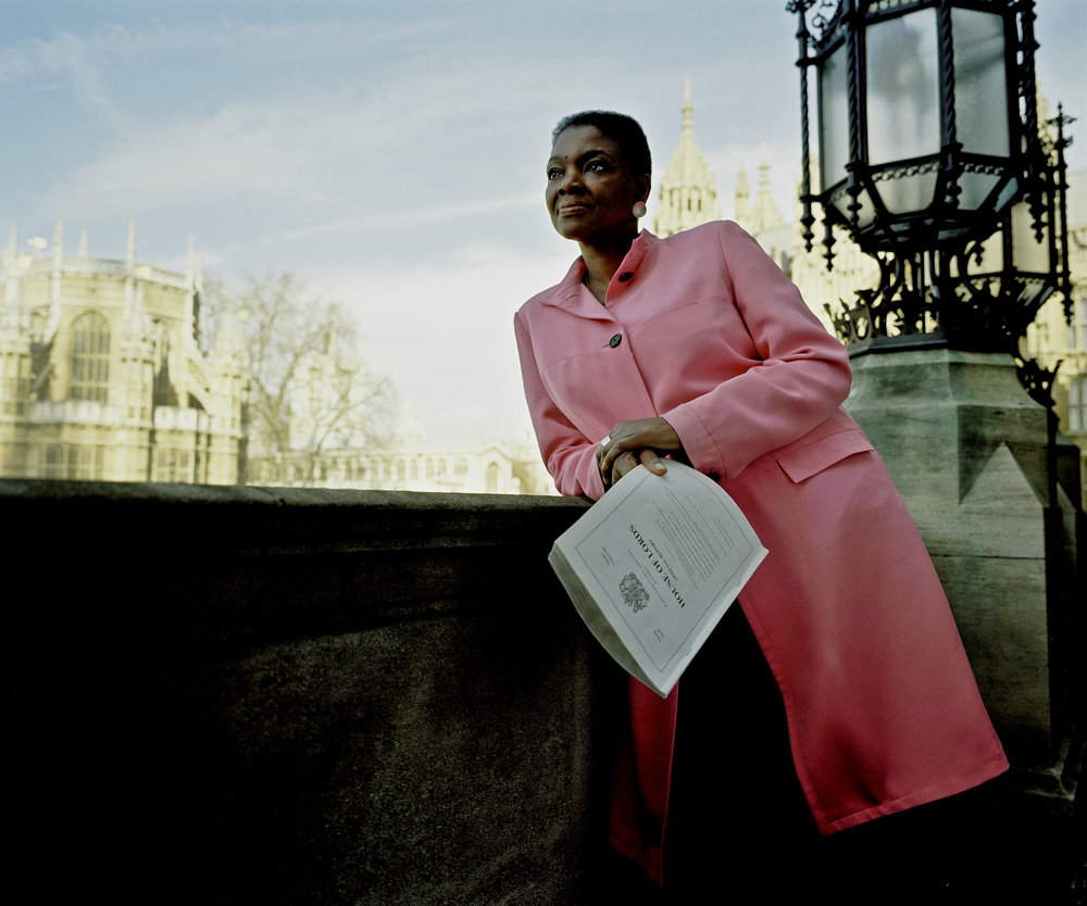 Baroness Amos, for the Black Britannia Photo Exhibition