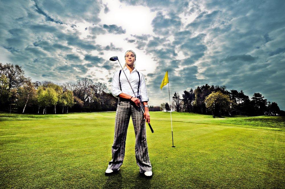 British Golfer Henrietta Zuel