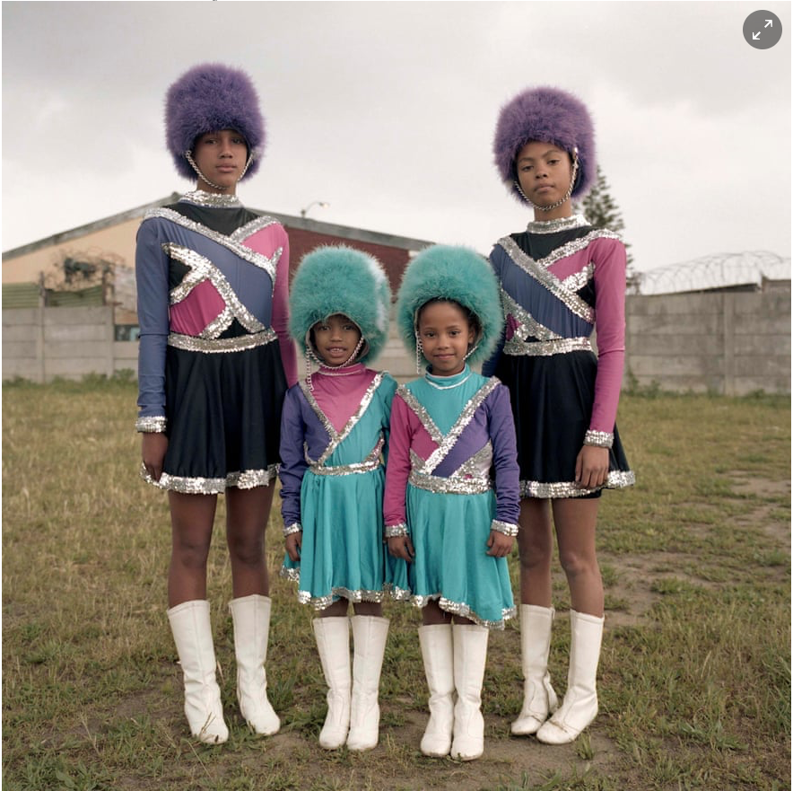 'Keisha Ncube, Cape Town, South Africa, 2017 from the series Drummies'
