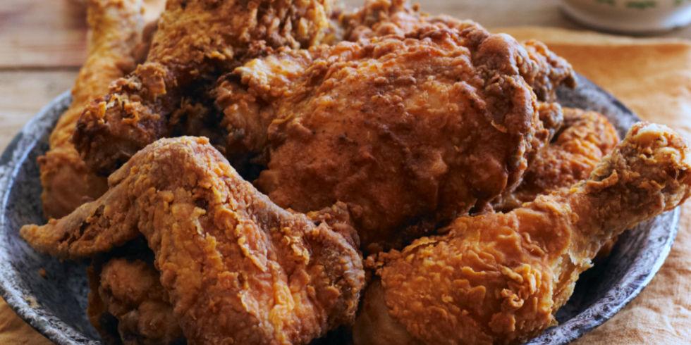 "Healthy ""Fried"" Chicken"
