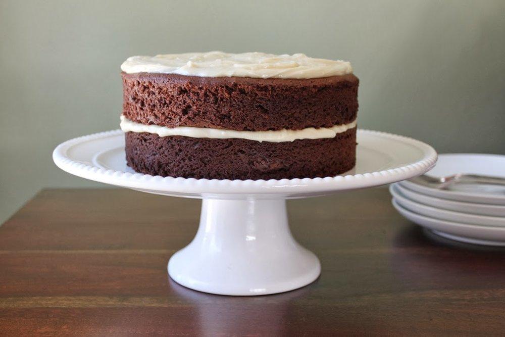 Guinness & Bailey's Cake