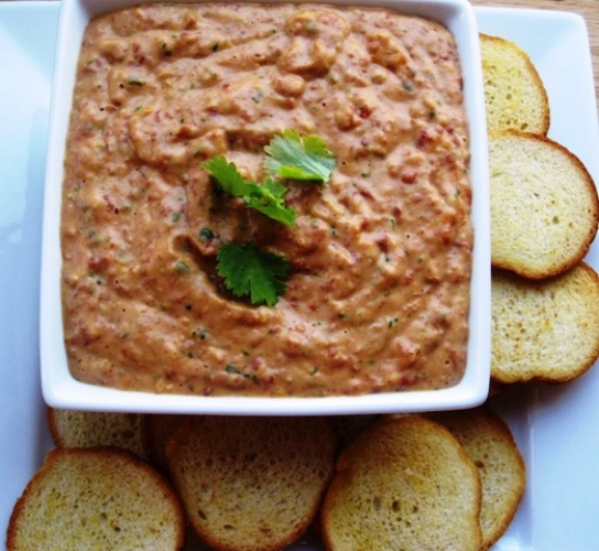 Game Day Barbecue Chicken Dip 1.JPG