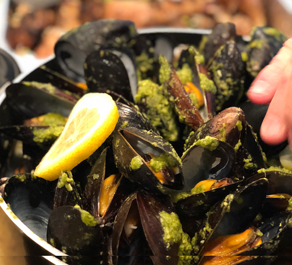 Mean Green Mussels