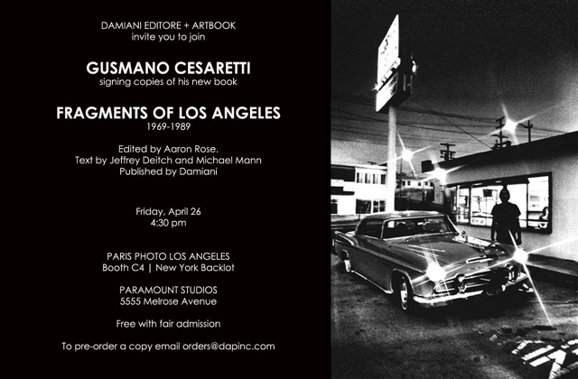 Fragments of Los Angeles4/26/2013 - Paris Photo Los AngelesParamount Studios5555 Melrose Avenue
