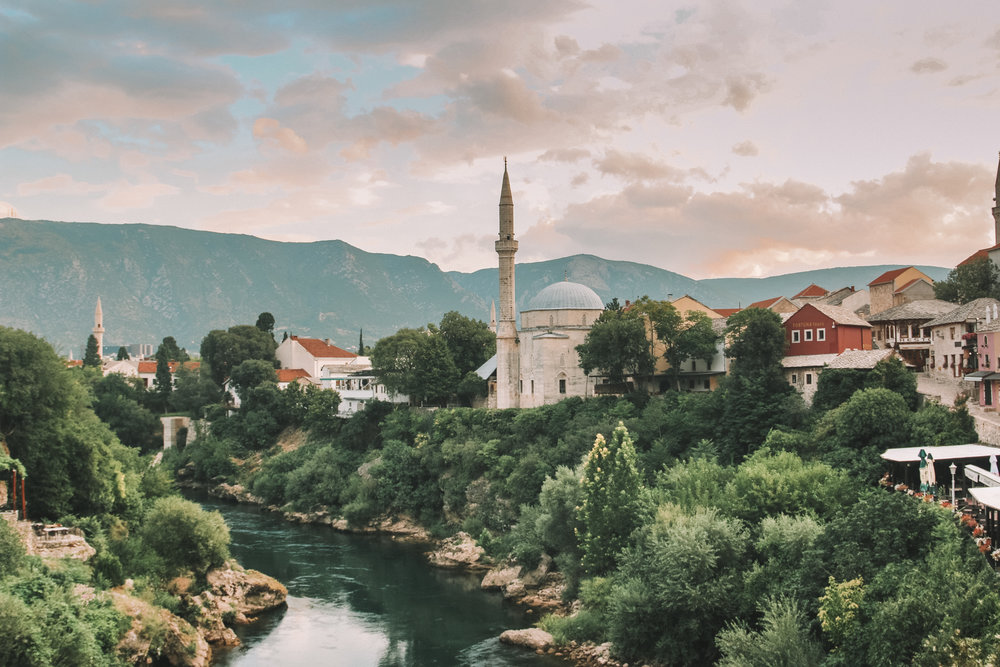 View from Stari Most Bridge