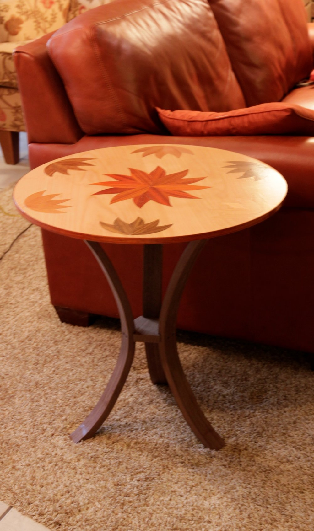 And makes a nice sized end table! -