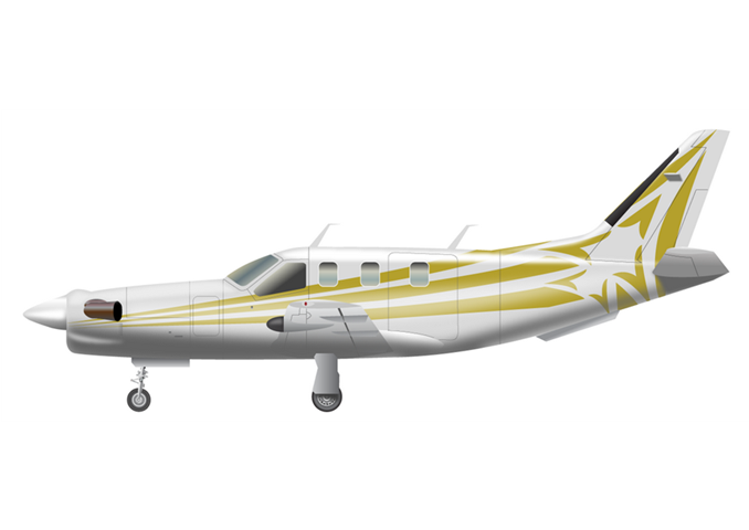 Daher-Socata TBM 700C2 / TBM 850Passengers (typical): 5Cabin Height: 4.1 ftCabin Width: 4.1 ftCabin Length: 10.0 ftBaggage total: 35.9 cu ftAverage Cruising Speed: 283 KTAS / 312 KTASMax Cruising Altitude: 31,000 ftFull Passenger Range: 1,000 NM / 967 NMLavatory: NoGalley: No - © 2018, Conklin & de Decker Associates, Inc.