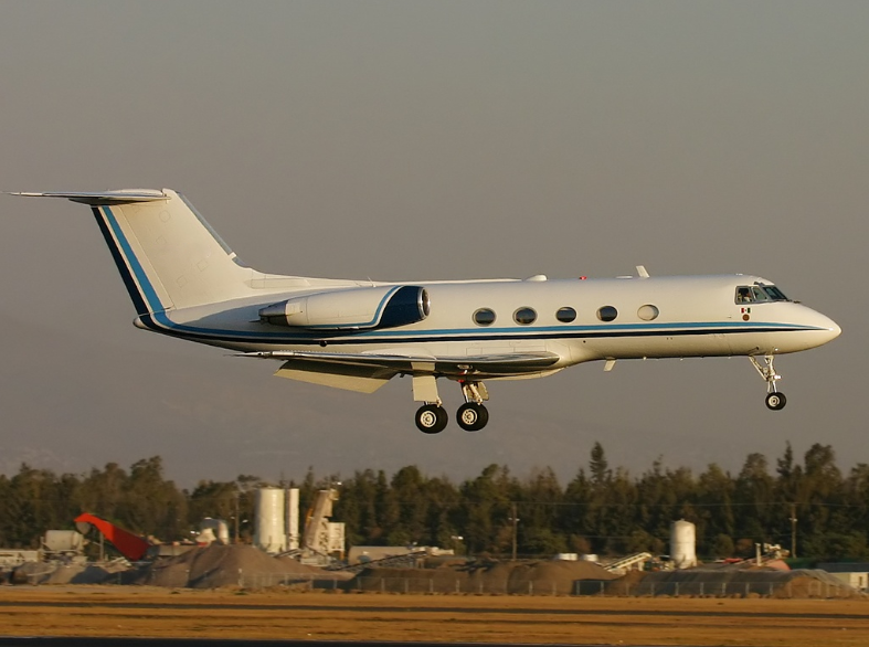 The Gulfstream II (G II) first flew in 1966.