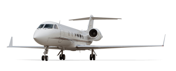 "The  Gulfstream IV  is a large cabin ""heavy jet"" with a full passenger range of just under 4,500 miles"