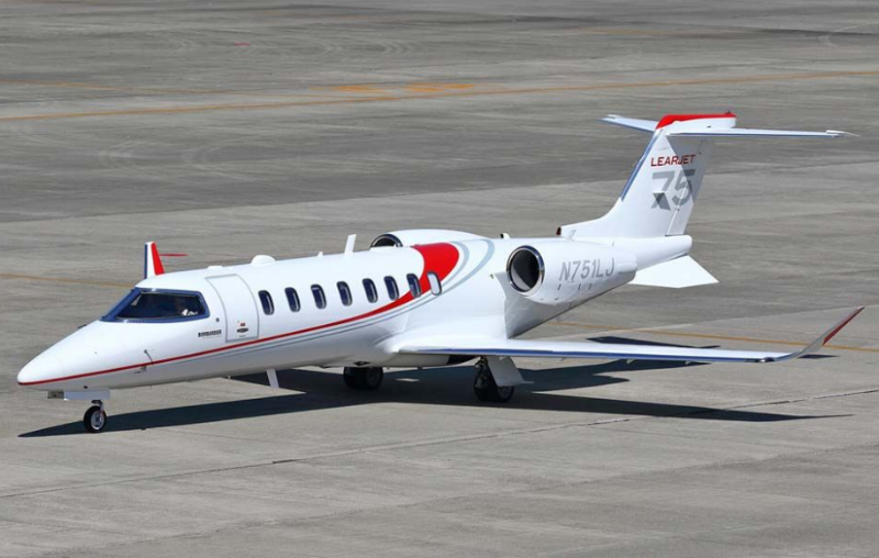 Bombardier Learjet 75 is the latest in a long line of aircraft that have helped define the light jet category