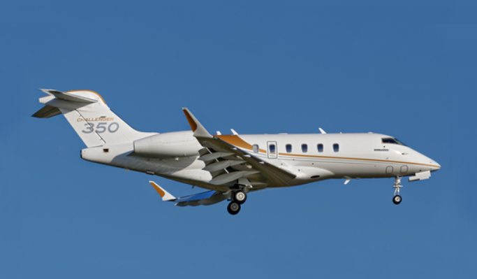 650 Bombardier Challenger 300 series aircraft were delivered in the 10-years ended December 2017, making it an extremely popular choice for flights of 4-5 hours.