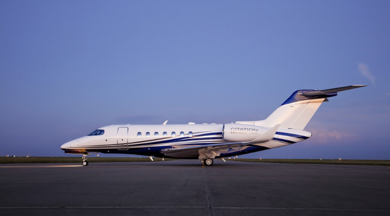 Longitude, the latest Citation is expected to enter service at the end of 2018.