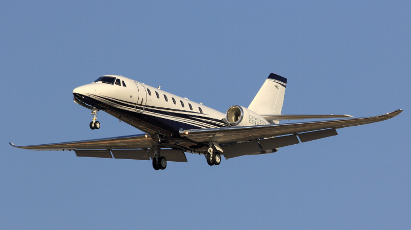 The Sovereign+ is distinguishable from its predecessor by raked winglets that provide greater range.