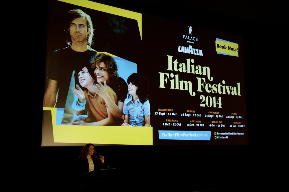 Paulette at the Italian Film Festival -
