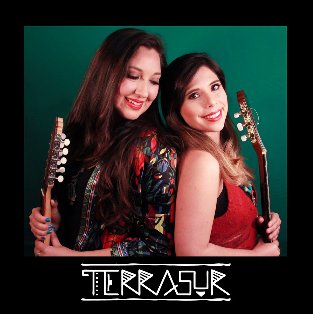 Cover page of Terrasur's first EP. Photo by Katherine Gailer -