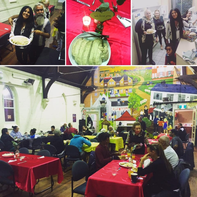 to date more than 3000 meals have been served to the less privileged. -