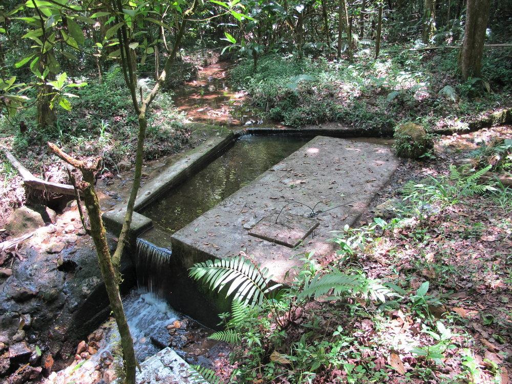 La ultima toma de agua del proyecto de El Rincón