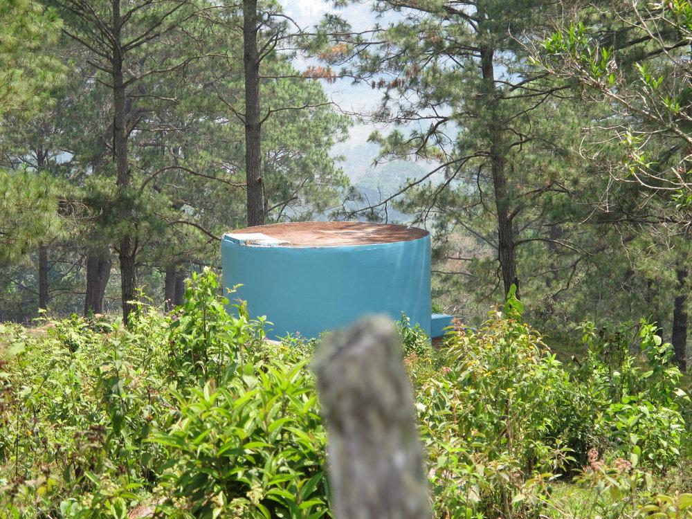 Tanque de Agua Dulce con capacidad de 12,000 galones