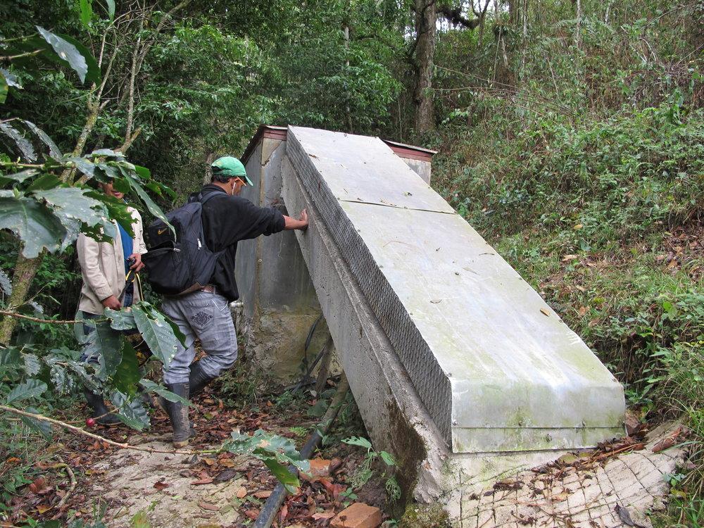Caja de sedimiento de Altamira