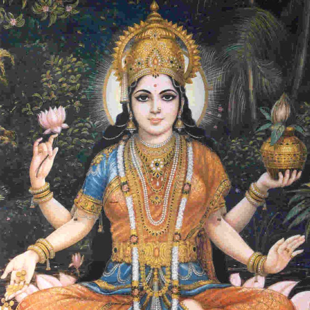 Lakshmi goddess hinduism nithyananda vireshwara