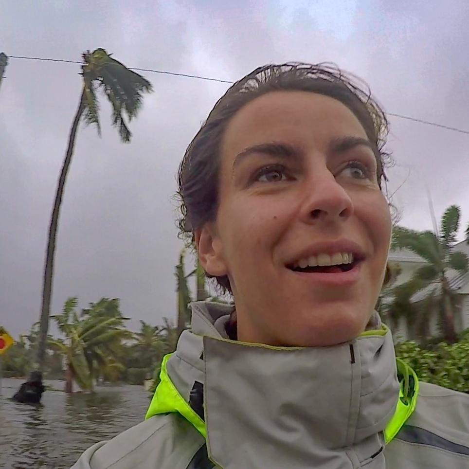 - Melody Sturm, meteoroloog en jouw reisleider op deze reisStuur me een emailErvaring: Hurricanes Irma, Florence, Charley en Frances