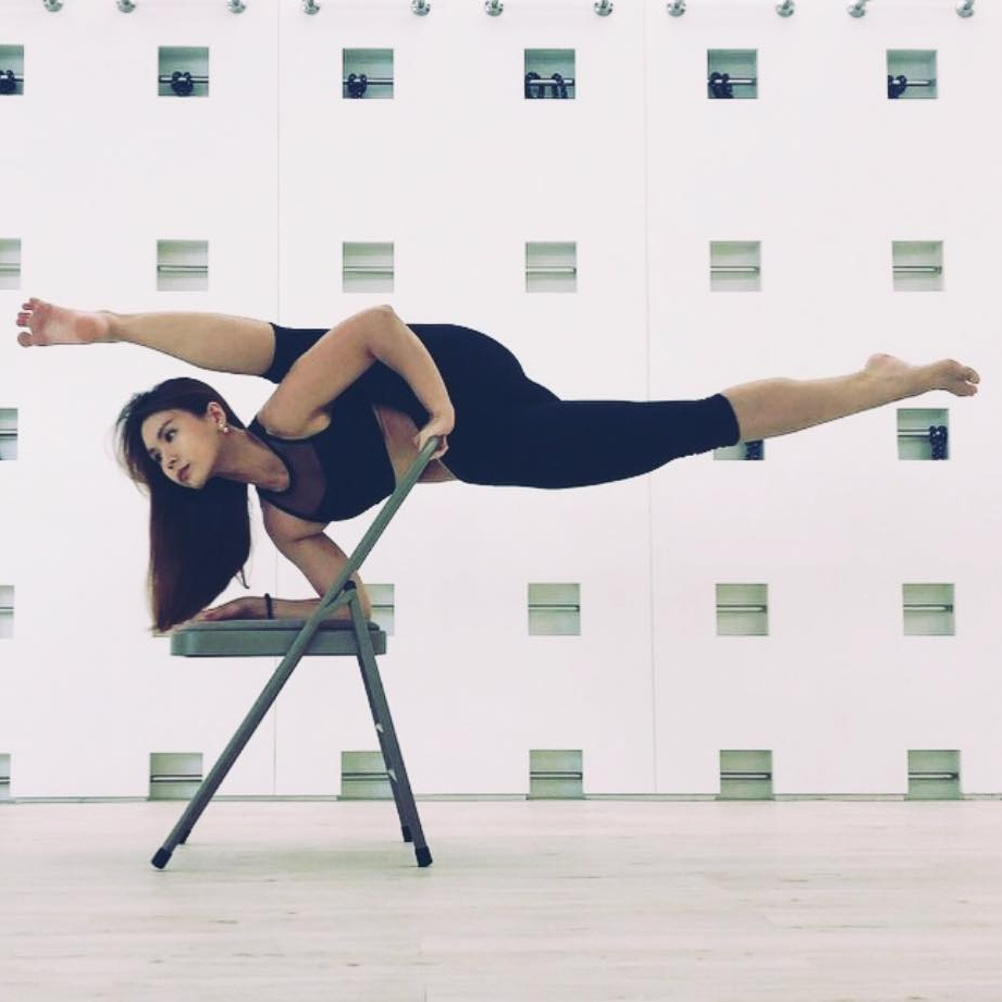 Free Chair Yoga Before Lunch By Esther Leong Organic Life Kl