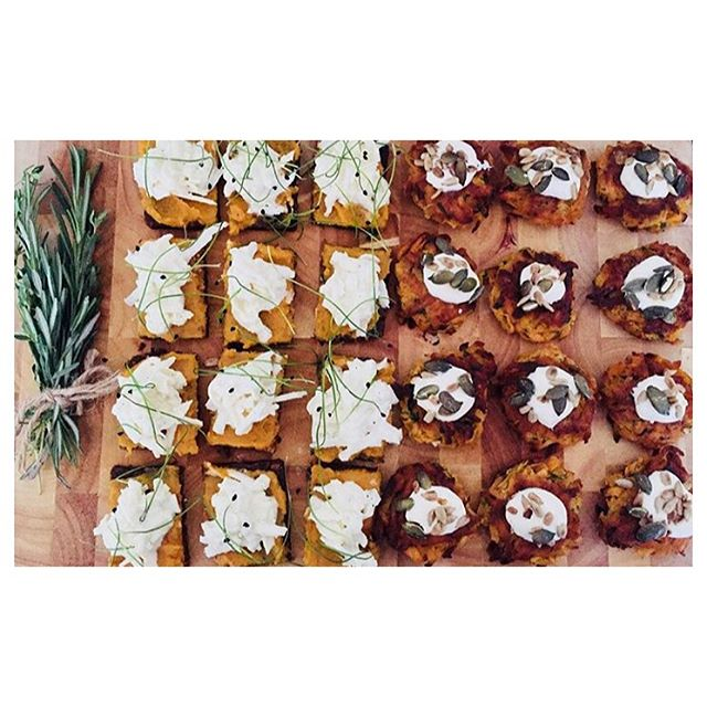 Canapé feast from the amazing @emilyeatsuk for the lucky guests of the latest #mindfullsupper