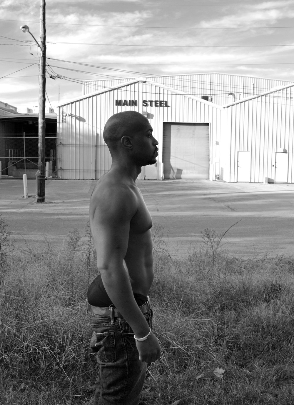 """Main Steel"" by Johnnie Ray Kornegay III (Model: Marcus Emel)"