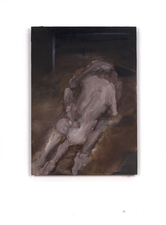 Argos. on wood.48x34cm.2010