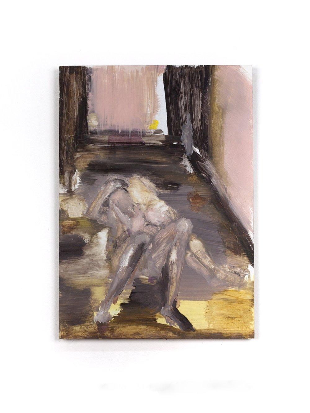 Nafplio. on wood.48x34cm.2010