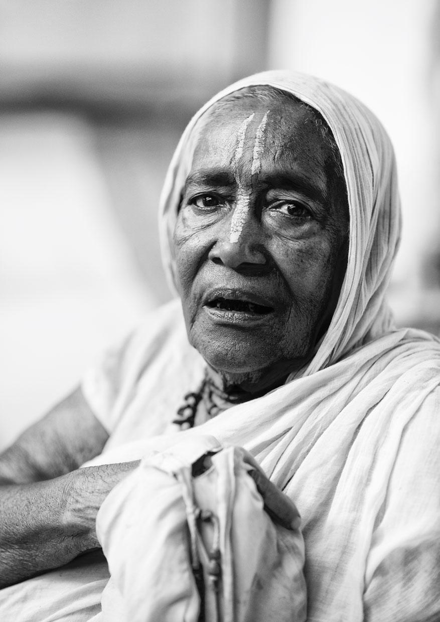 widow of vrindavan :: portrait black and white I.jpg