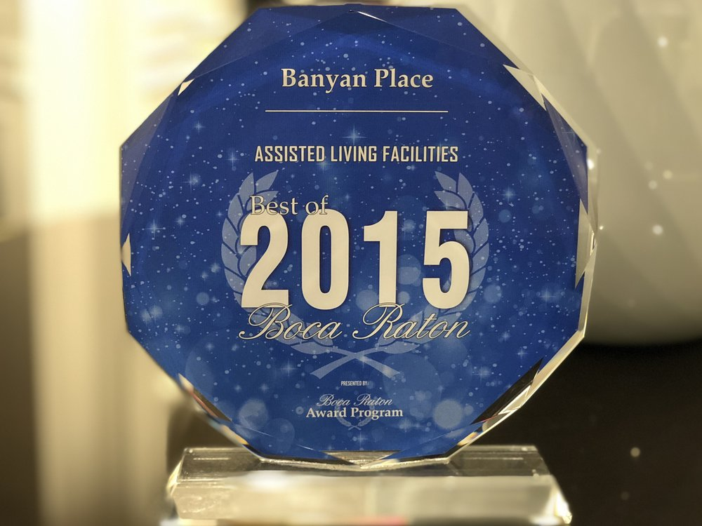 Banyan Place Best of Boca Raton Assisted Living Facility 2015