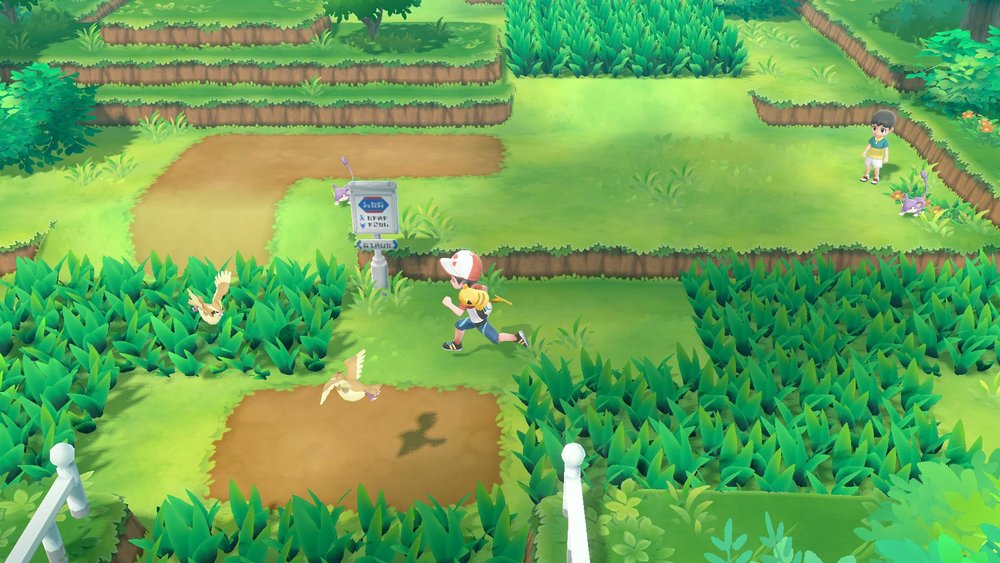Visible Wild Pokémon! -       No more are the days were we shuffle through endless encounters from pidgey and rattata! In this new iteration of the franchise, we can look forward to actually SEEING which Pokémon we are about to battle. The 6th generation (Pokémon X & Y) attempted to give us more insight on where Pokémon were hiding with the PokéRadar, then 7th generation (Pokémon Sun and Moon) graced us with warnings like tails in tall grass, and shadows form above encounters. Yet, this is really what some players have been asking for, actually seeing which Pokémon are wondering around and making the decision to battle... or not!
