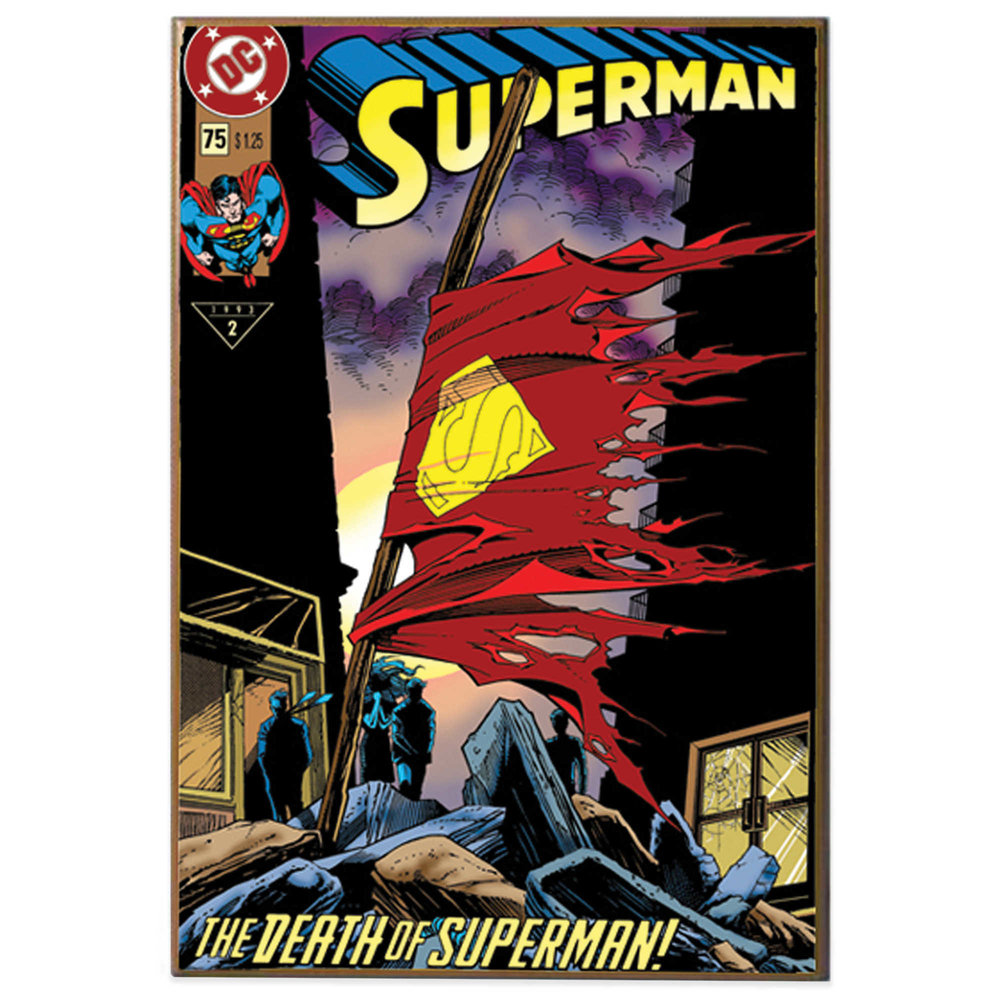 The death of Superman in 1992